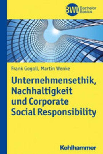 eBook Unternehmensethik, Nachhaltigkeit und Corporate Social Responsibility Cover