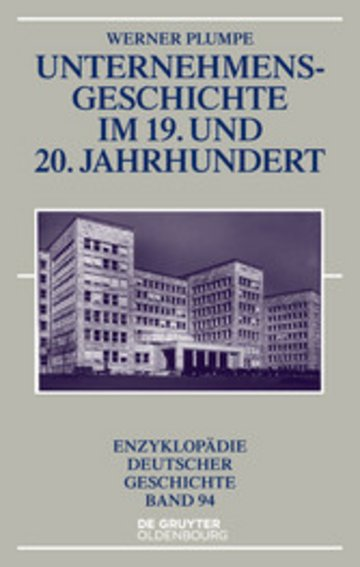 eBook Unternehmensgeschichte im 19. und 20. Jahrhundert Cover