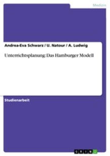 eBook Unterrichtsplanung: Das Hamburger Modell Cover