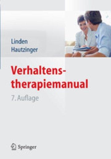 eBook Verhaltenstherapiemanual Cover