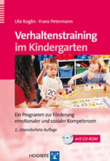 eBook Verhaltenstraining im Kindergarten Cover