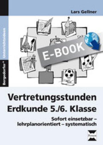 eBook Vertretungsstunden Erdkunde 5./6. Klasse Cover