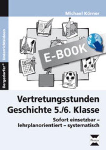 eBook Vertretungsstunden Geschichte 5./6. Klasse Cover