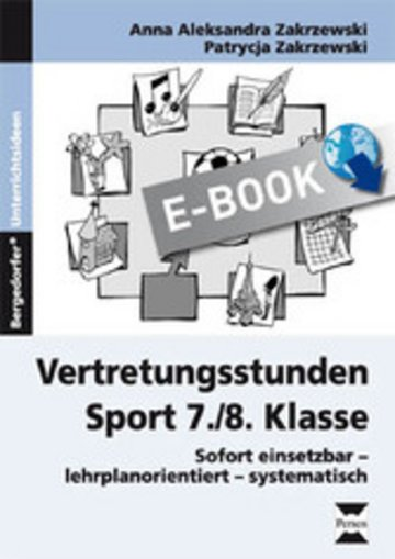 eBook Vertretungsstunden Sport 7./8. Klasse Cover