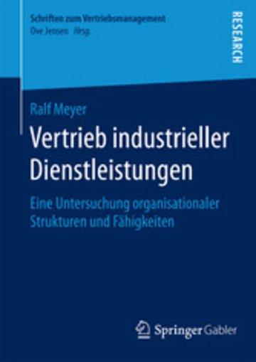 eBook Vertrieb industrieller Dienstleistungen Cover