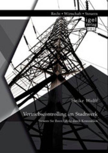 eBook Vertriebscontrolling im Stadtwerk: Steuern Sie Ihren Erfolg durch Kennzahlen Cover