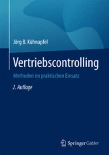 eBook Vertriebscontrolling Cover