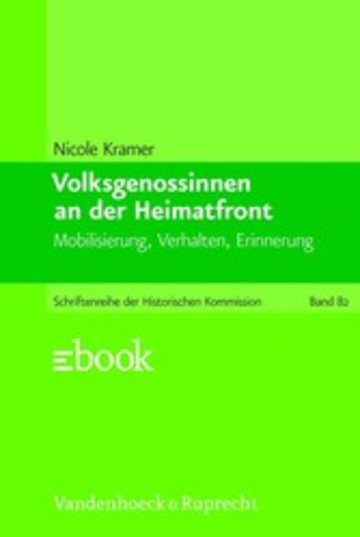 eBook Volksgenossinnen an der Heimatfront Cover