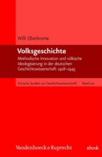 eBook Volksgeschichte Cover