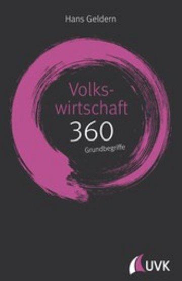 eBook Volkswirtschaft: 360 Grundbegriffe kurz erklärt Cover