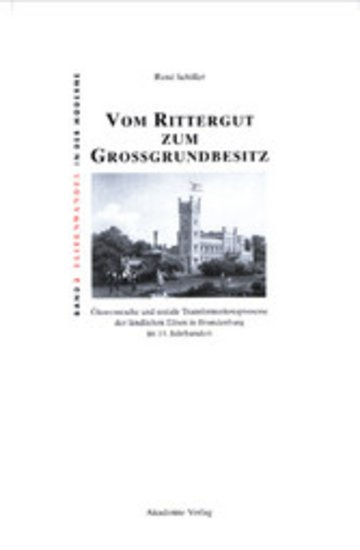 eBook Vom Rittergut zum Großgrundbesitz Cover