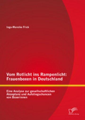 eBook Vom Rotlicht ins Rampenlicht: Frauenboxen in Deutschland Cover
