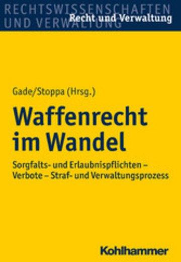 eBook Waffenrecht im Wandel Cover