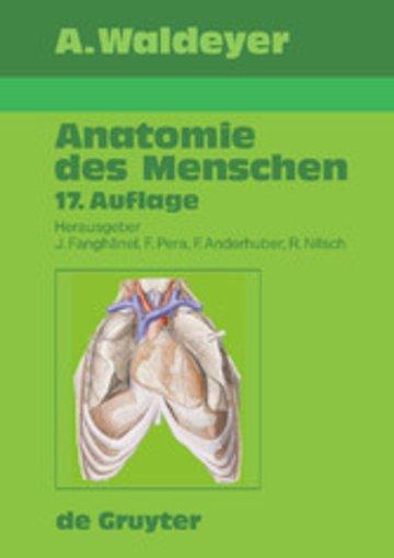 Waldeyer - Anatomie des Menschen - PDF eBook kaufen | Ebooks ...