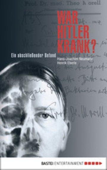 eBook War Hitler krank? Cover