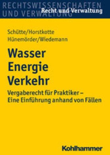 eBook Wasser Energie Verkehr Cover