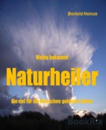 eBook Wenig bekannte Naturheiler Cover