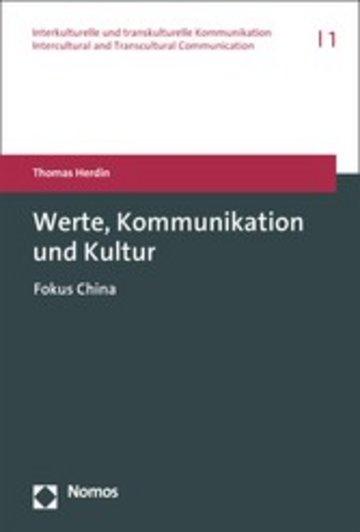 eBook Werte, Kommunikation und Kultur Cover