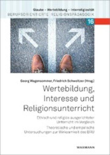 eBook Wertebildung, Interesse und Religionsunterricht Cover