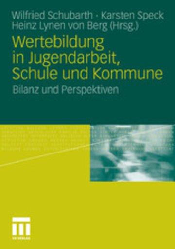 eBook Wertebildung in Jugendarbeit, Schule und Kommune Cover