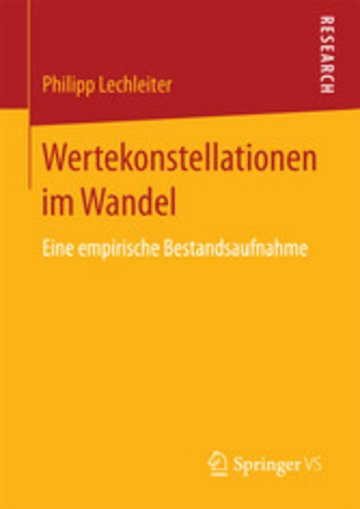 eBook Wertekonstellationen im Wandel Cover
