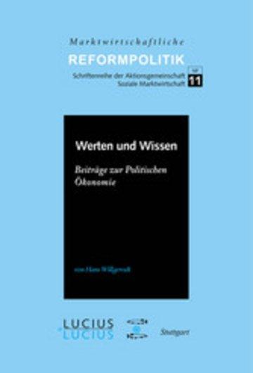 eBook Werten und Wissen Cover