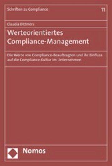 eBook Werteorientiertes Compliance-Management Cover
