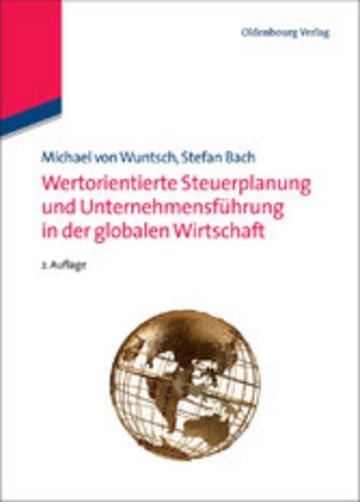 eBook Wertorientierte Steuerplanung und Unternehmensführung in der globalen Wirtschaft Cover