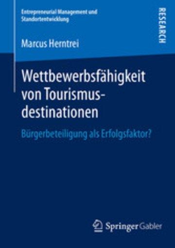 eBook Wettbewerbsfähigkeit von Tourismusdestinationen Cover