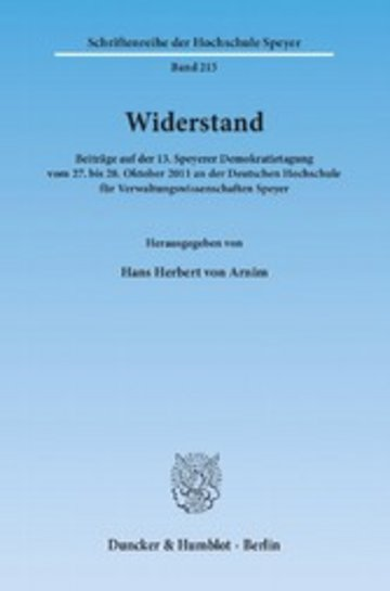 eBook Widerstand. Cover