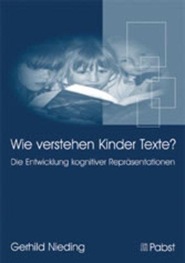 eBook Wie verstehen Kinder Texte? Cover