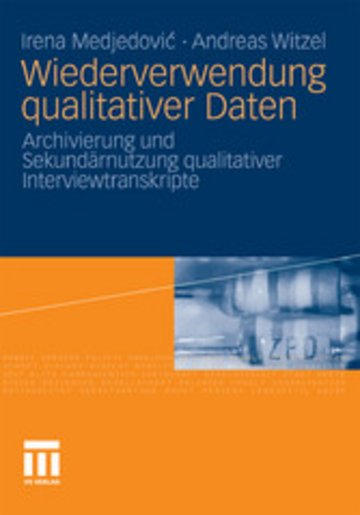 eBook Wiederverwendung qualitativer Daten Cover