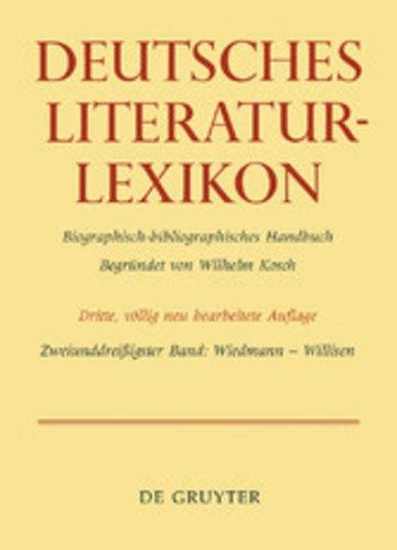 eBook Wiedmann - Willisen Cover