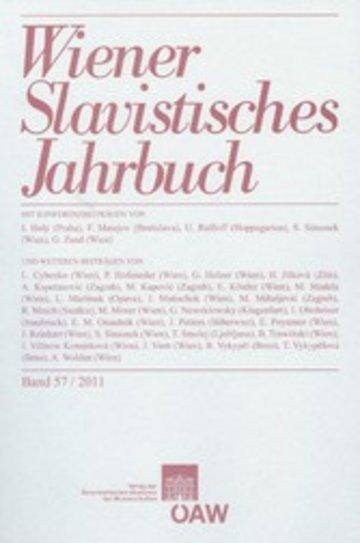 eBook Wiener Slavistisches Jahrbuch, Band 57 / 2011 Cover