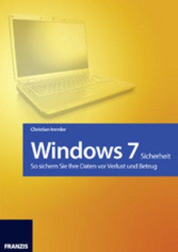 eBook Windows 7 - Sicherheit Cover