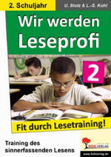 eBook Wir werden Leseprofi / Klasse 2 Cover