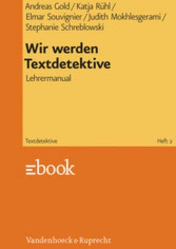 eBook Wir werden Textdetektive Cover