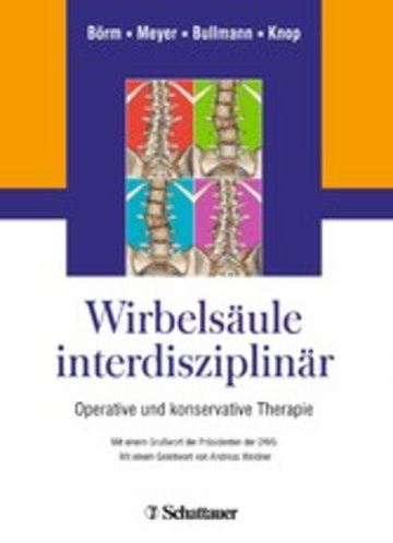 eBook Wirbelsäule interdisziplinär Cover