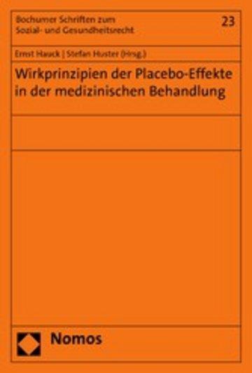 eBook Wirkprinzipien der Placebo-Effekte in der medizinischen Behandlung Cover