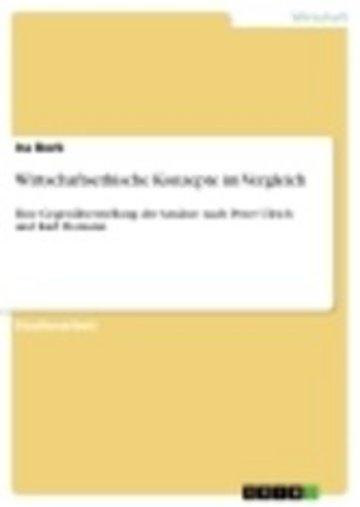 eBook Wirtschaftsethische Konzepte im Vergleich Cover