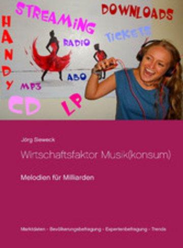 eBook Wirtschaftsfaktor Musik(konsum) Cover