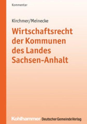 eBook Wirtschaftsrecht der Kommunen des Landes Sachsen-Anhalt Cover