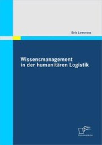eBook Wissensmanagement in der humanitären Logistik Cover