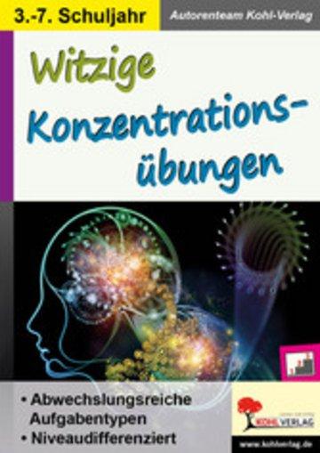 eBook Witzige Konzentrationsübungen Cover