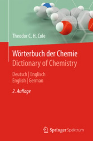 eBook Wörterbuch der Chemie / Dictionary of Chemistry Cover