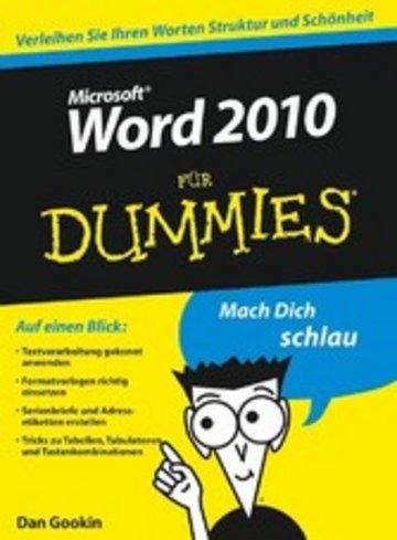 eBook Word 2010 für Dummies Cover