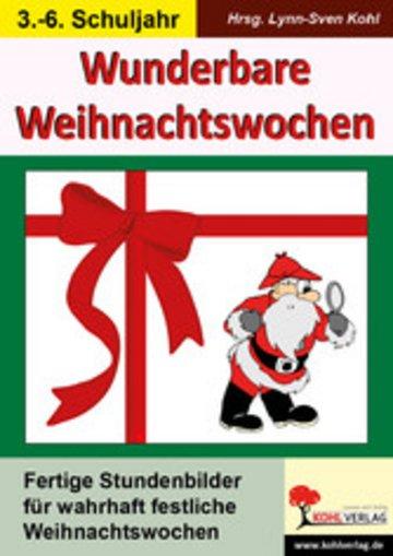 eBook Wunderbare Weihnachtswochen Cover