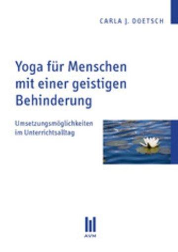 eBook Yoga für Menschen mit einer geistigen Behinderung Cover