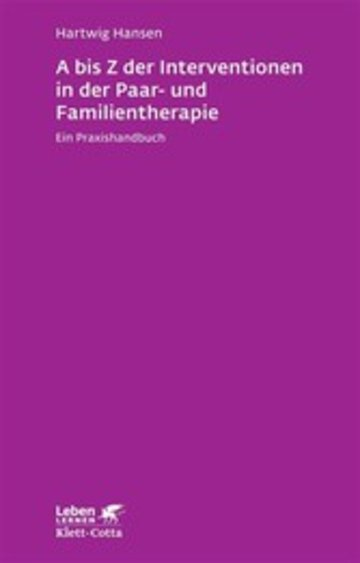 eBook A bis Z der Interventionen in der Paar- und Familientherapie Cover