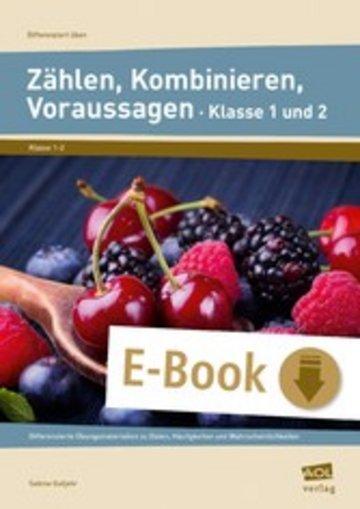 eBook Zählen, Kombinieren, Voraussagen - Klasse 1 und 2 Cover